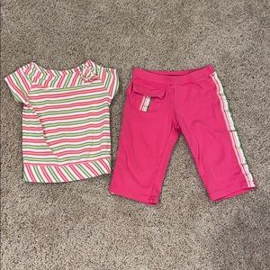 Girls Gymboree Multicolor Striped Outfit